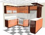 Кухня 125