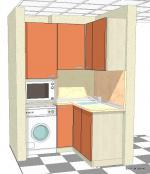 Г- образна кухня