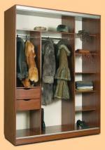 дизайн гардероби по поръчка