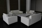 Мека мебел с ракла с дизайнерска визия