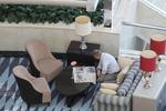 Мека мебел за лоби на хотел с ракла