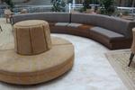 Мека мебел за фоайе на хотел с ракла