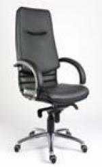 Мениджърско кресло в черно