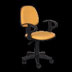 Офис стол жълт