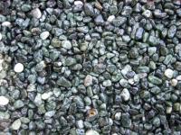 Кварцова настилка за под сиви камъчета