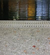 Настилка от камъчета- кварц