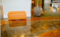 Луксозна оранжева кварцова настилка