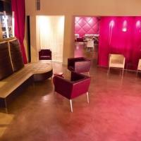 Розова дизайнерска настилка от кварц