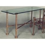 стъклена масичка от желязо 3589-3171
