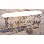 дизайнерска холна маса от ковано желязо 3736-3171