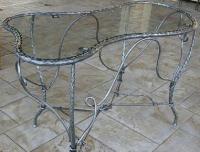 Дизайнерска маса от ковано желязо