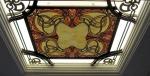 Изработка на витраж от от ковано желязо и цветни стъкло