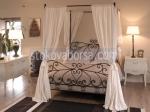Изработка на спални с балдахин от ковано желязо