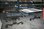 поръчкова маса от ковано желязо