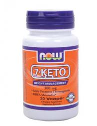 7-KETO 100 мг - 30 капсули /DHEA Acetate-7-one/