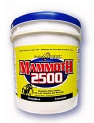 Mammoth 2500 Gainer 2.2 кг.