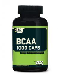 Optimum Nutrition BCAA 1000 - 60 капсули