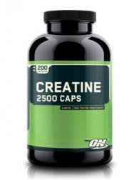 Optimum Nutrition Creatine 2500 - 200 капсули