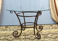 Проектиране и изработка на маса от ковано желязо