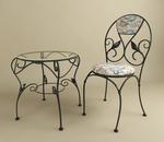 Столове и маса ковано желязо цени