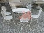 Столове и маса ковано желязо скъпи