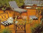 Столове и маса ковано желязо на ниски цени