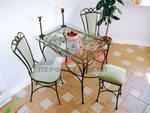 Стол и маса от ковано желязо за целия дом
