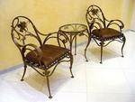 Издръжливи столове и маси ковано желязо