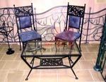 Столове и маса за вътрешна и външна употреба