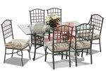 Кован стол и маса за външно и вътрешно ползване