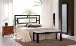 Проектиране на спалня от ковано желязо