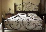 Масивно легло от ковано желязо