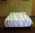 Поръчкова изработка на спалня от ковано желязо