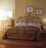 Спалня с декорации от ковано желязо