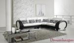 луксозен ъглов диван по поръчка 1516-2723