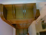 Мебели за кухня от MDF естествен фурнир и дъб