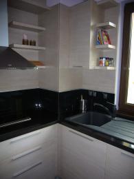 Кухненски мебели от MDF естествен фурнир и дъб