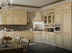 лукс кухни масив с плавни механизми