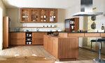 кухни масив кафяв цвят по поръчка