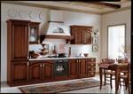стабилни прави класически кухни дъб дизайнерски