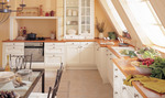 интериори за луксозни бели класически кухни София