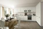 комфортни ъглови класически кухни бял цвят авторски дизайн