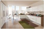 солидни ъглови класически кухни бял цвят уникални