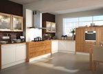 кухни класически бежов цвят по проект