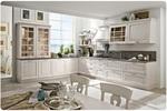 бели кухни класически с плавни механизми