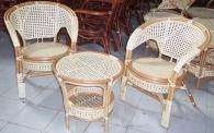 Маса и столове от ратан