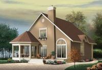 Сглобяема къща с метална конструкция 134 кв