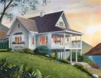 Сглобяема къща с тераси 138 кв.м.