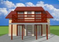 Сглобяеми къщи на два етажа