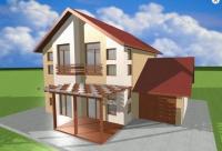 Къща на два етажа сглобяема